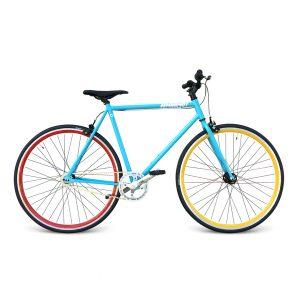 Bicicleta fixie para mujer