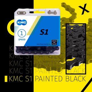KMC / Painted Black / para #singlespeed #fixedbikes #bicisurbanas #bicifija #bmx